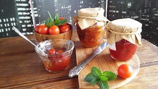 Receta de mermelada de tomates rojos