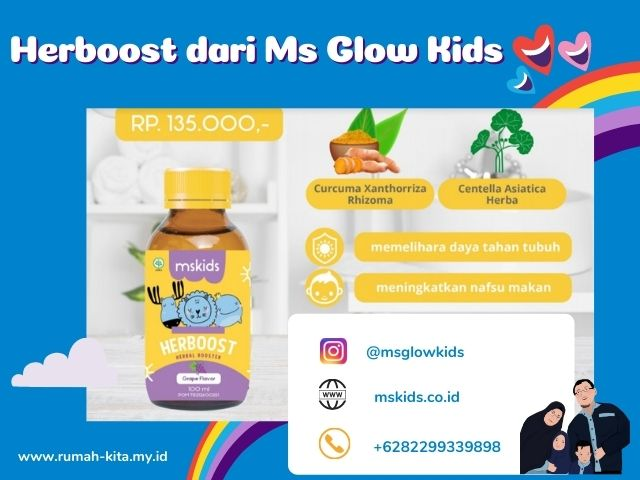 herboost ms glow kids