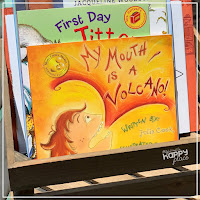 Back to School Books for kindergarten and first grade - My Mouth Is a Volcano