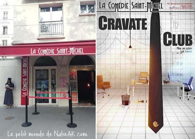 Cravate Club La Comédie Saint-michel