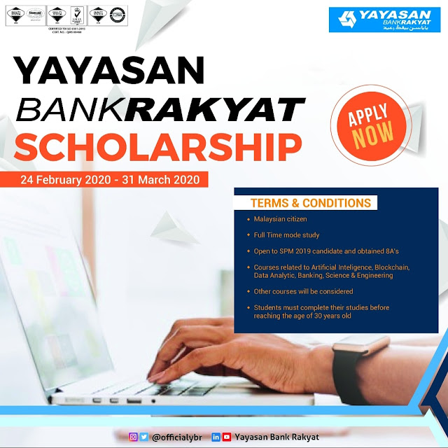 Yayasan Bank Rakyat Scholarship