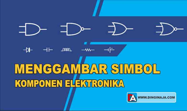 Gambar Simbol Komponen Elektronika