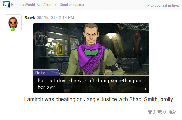 Phoenix Wright Ace Attorney Spirit of Justice Datz Are'bal rebel base