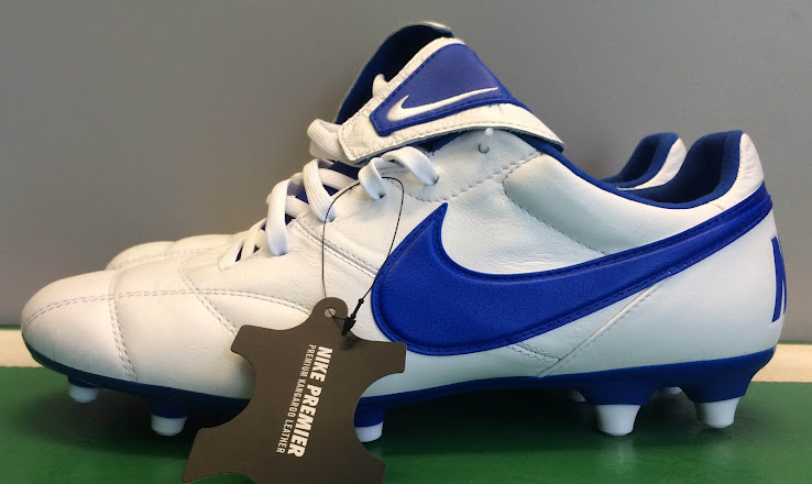 White   Blue Next-Gen Nike Premier 2 2017-18 Boots Released ... 473037463d98
