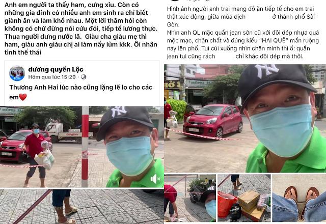 6 MC Quyền Linh đi chợ giúp em trai Đạo diễn Quyền Lộc trong khu vực phong tỏa