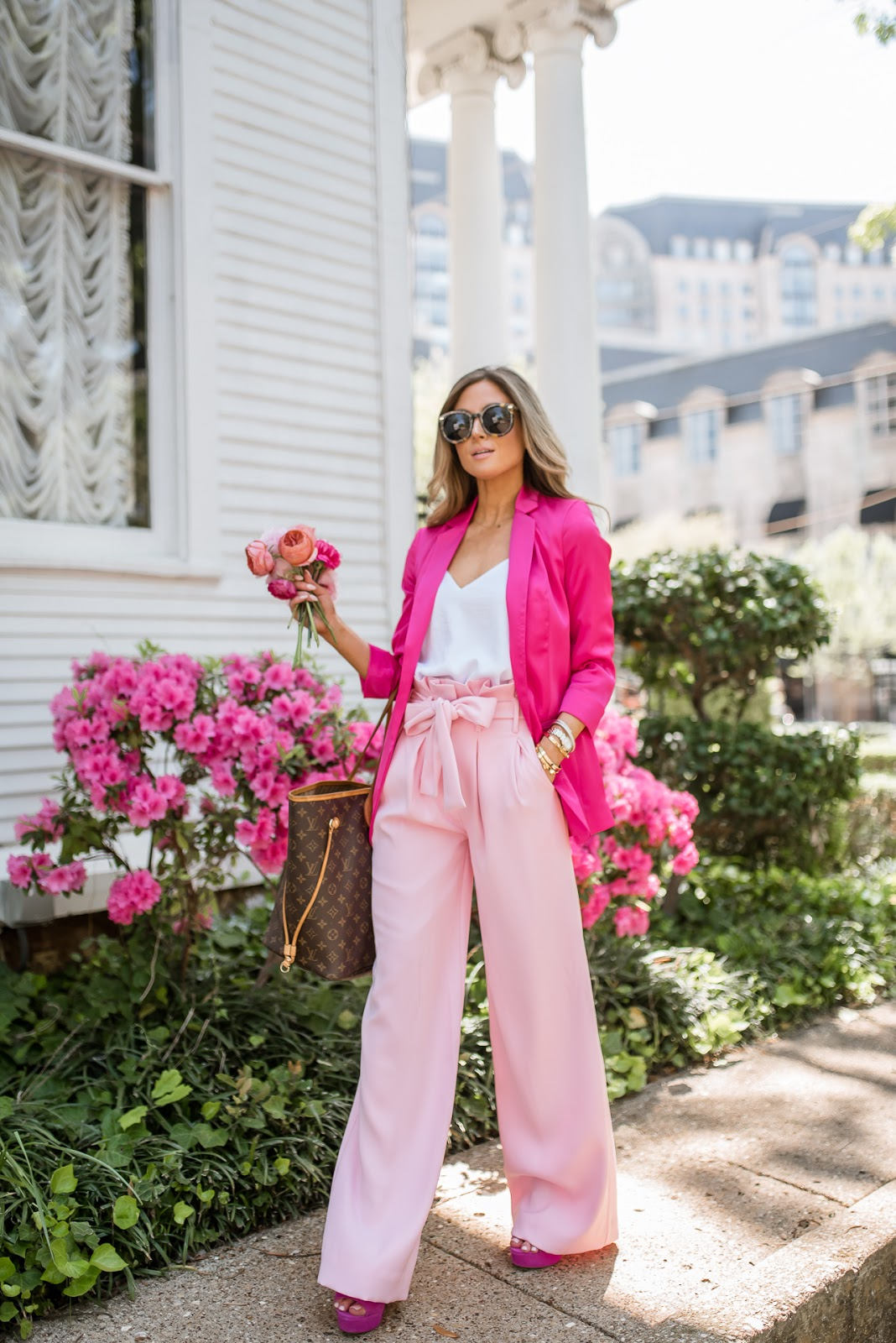 revolve pink lovers + friends karwayna pant