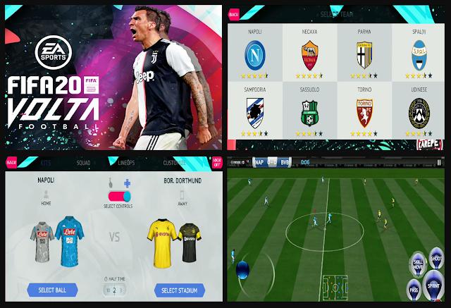 Anda jangan lupa untuk Unduh juga file  Download Update FIFA 14 MOD FIFA 20 Volta Football