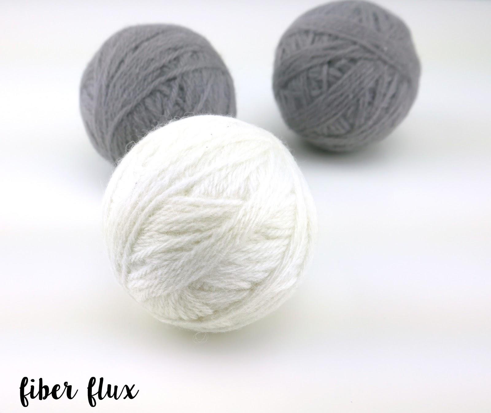Knitting Pattern For Wool Dryer Balls : Fiber Flux: How To Make Felted Wool Dryer Balls