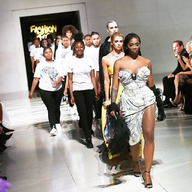 My Price Just Went Up - Tiwa Savage Reveals As She Models For #FashionForRelief2019