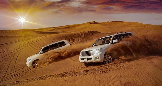Sand-dune bashing