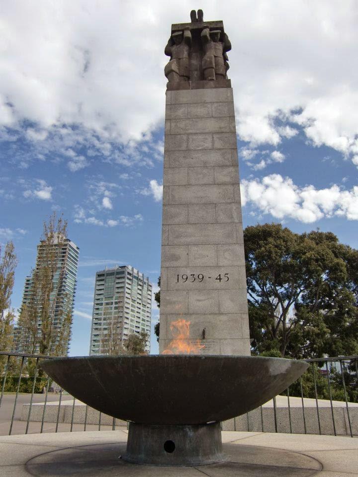 [澳洲工作假期系列] 墨爾本 戰爭紀念館 Shrine of Remembrance 6