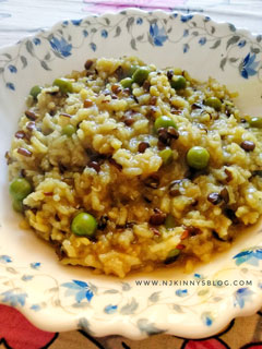 Special rice and lentils porridge is Khichdi made on Makar Sankranti