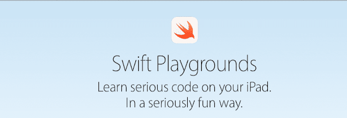 Podrás crear app con Swift playgrounds desde tu iPad