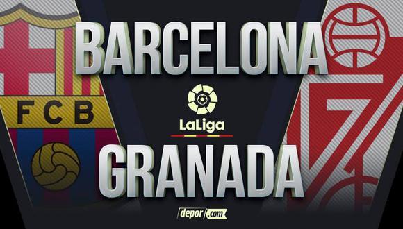 Barcelona vs Granada EN VIVO por LaLiga Santander: canales de TV y transmisión