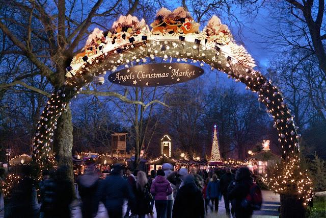 Winter Wonderland Hyde Park Angels Christmas Market