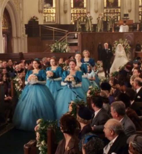 Cena casamento igreja em O sorriso de monalisa