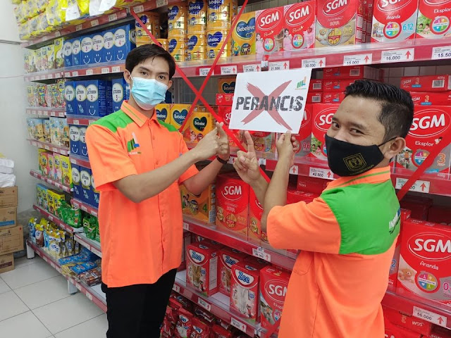 Minimarket di Indonesia Ramai-ramai Boikot Produk Prancis