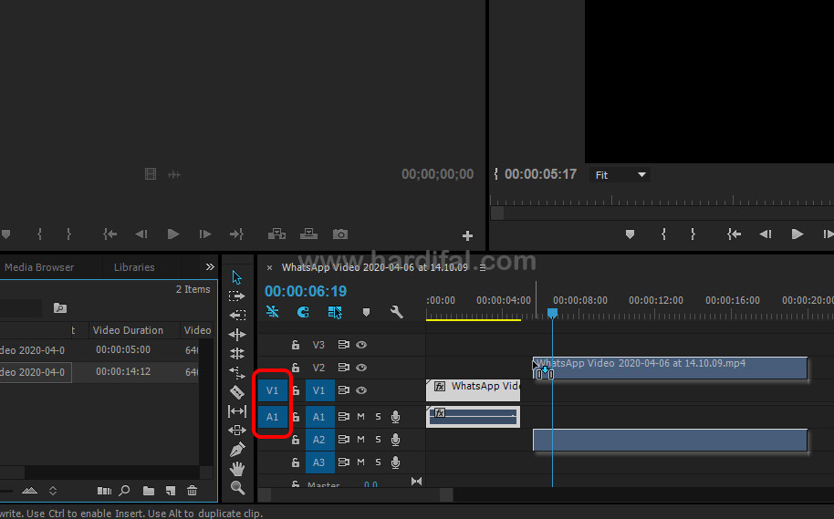Solusi mengatasi video tidak muncul di adobe premiere