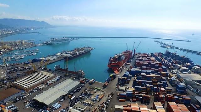 Al via la gara per il dragaggio nel porto di Salerno