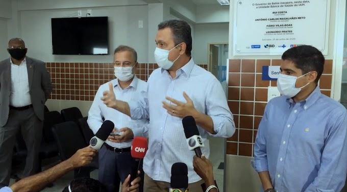 Rui Costa anuncia toque de recolher, e prefeitura de Itaberaba decreta lockdown
