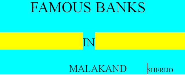 Complete List Of Banks Located In Malakand , KPK