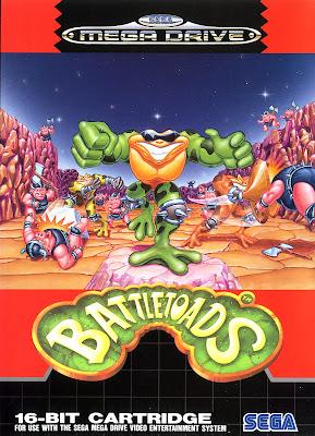 Rom de Battletoads - Mega Drive em PT-BR