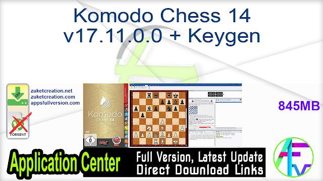 Komodo Chess 14 v17.11.0.0 + Keygen