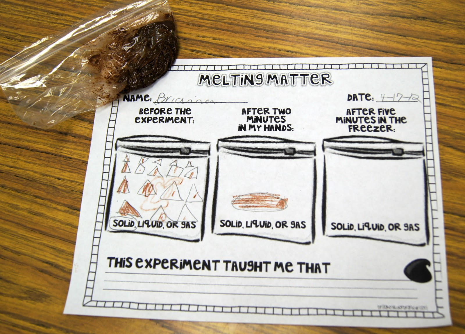 Lesson Plans For Second Grade Science Matter