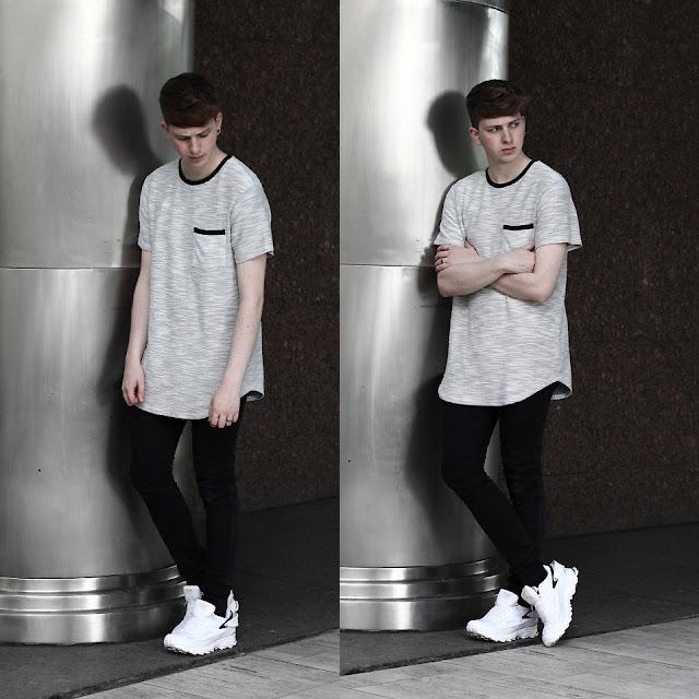 LongLine T-Shirt e Oversized Tee Como usar,. Como usar calça preta, Look Masculino, Como Usar, Camisetas Masculina onde comprart