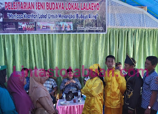 Tangkal Budaya Asing, FPII Touna Himbau Lestarikan Budaya Lokal  Ir. Suprapto : Lestarikan Seni Budaya Lokal