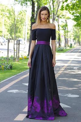 vestidos largos con tajo
