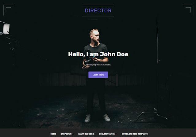 Director Template Blog