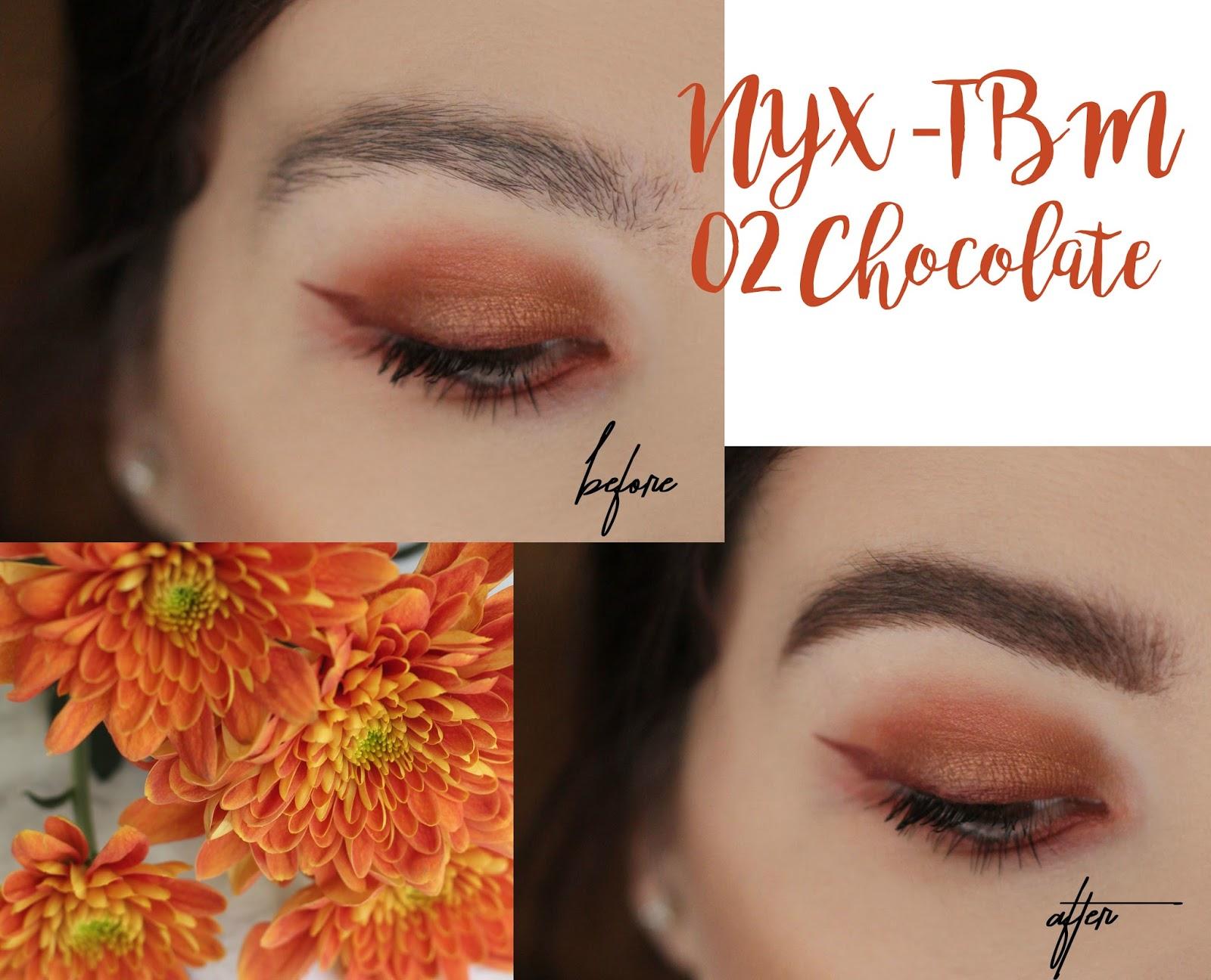 Harga Dan Spek Nyx Tinted Brow Mascara Terbaru 2018 Jaket Motor Pria Rc661 Tbm 02 Chocolate Review Another Kind Of Beauty Blog Xoxo Lovely