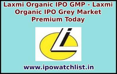 Laxmi Organic IPO GMP