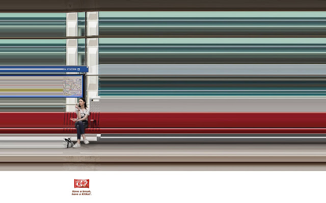 Deceptively Simple and Beautiful New Print Ads for Nestle s KitKat