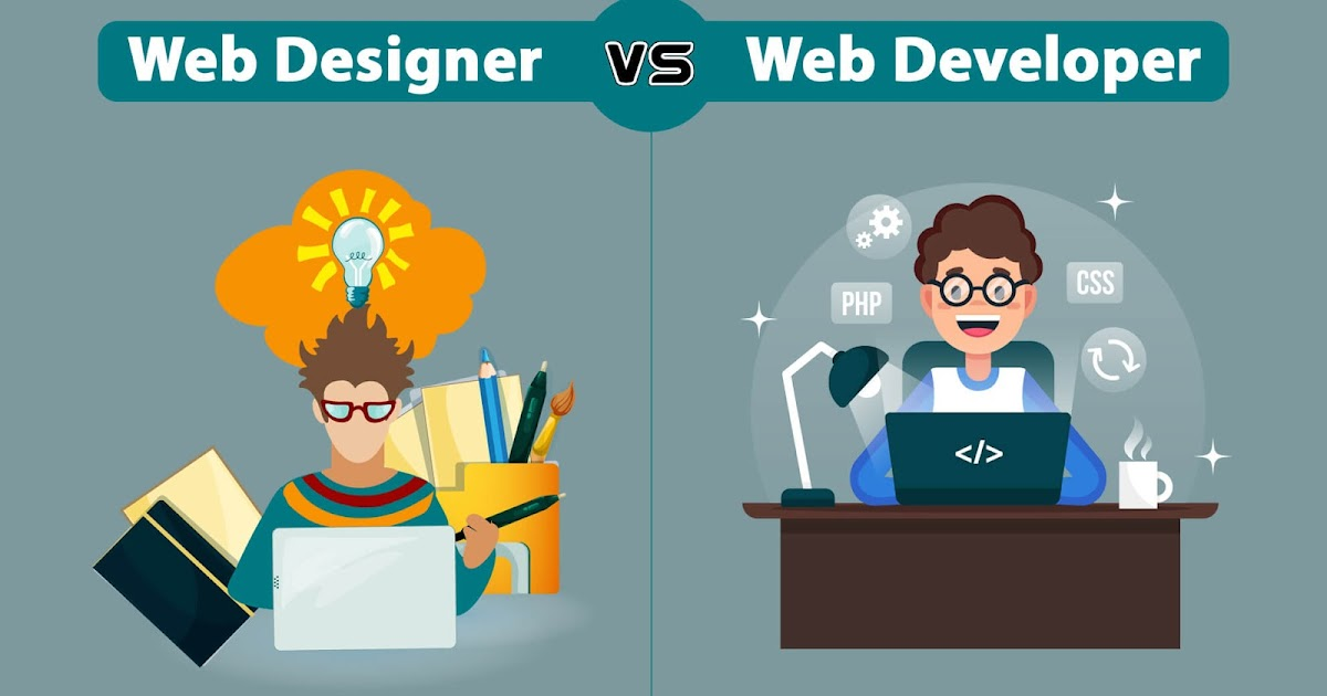What Is The Difference Between A Web Developer And A Web Designer