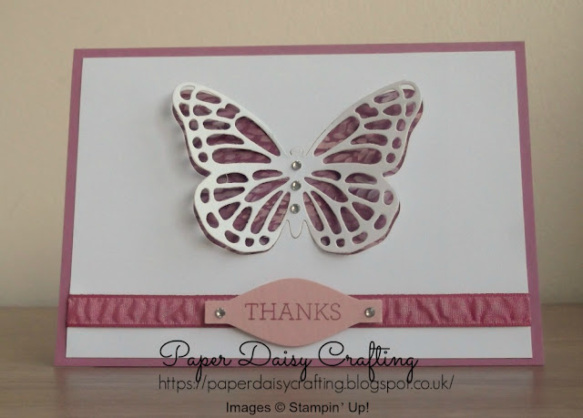 Butterflies thinlits from Stampin' Up!