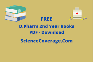 D Pharmacy 2nd Year Books PDF Download
