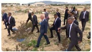 رئيس الجمهورية يؤدي زيارة إلى القصرين أين شارك ضباط الجيش الوطني مأدبة الإفطار
