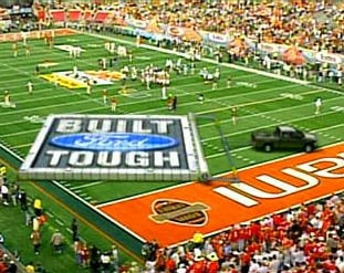 Figure 17: Advertisement on a Football game.