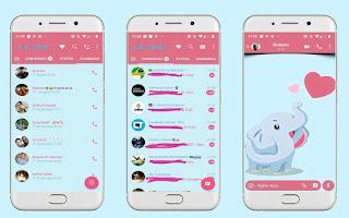 Elephant Love Theme For YOWhatsApp & Fouad WhatsApp By Leidiane