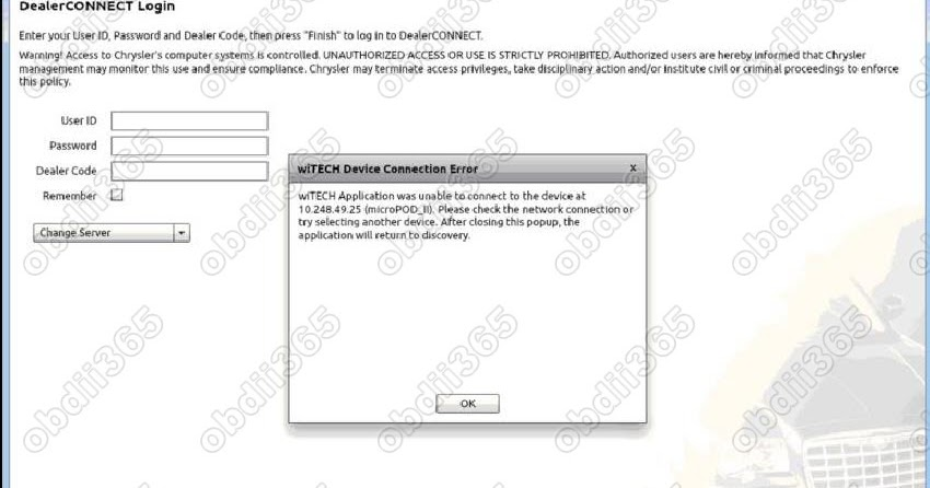 Chrysler Dealer Connect >> Witech Micropod Ii Technical Support Witech Micropod2