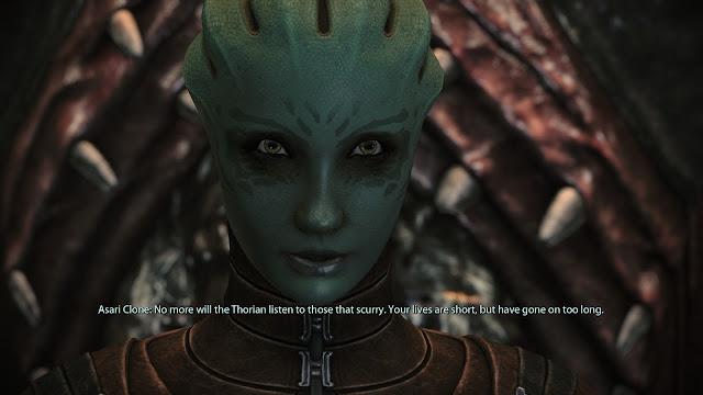 Screenshot of Asari Clone created by Thorian in Mass Effect 1 Legendary Edition