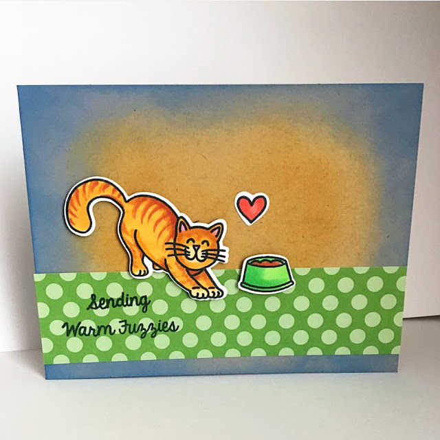 Sunny Studio Stamps: Furever Friends Customer Card by Michele