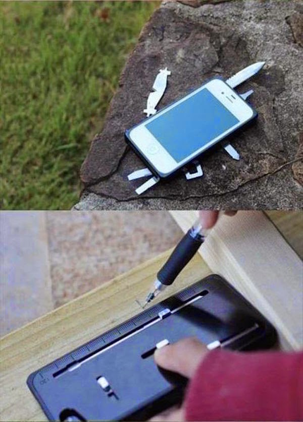 12.  iPhone Case with Tools