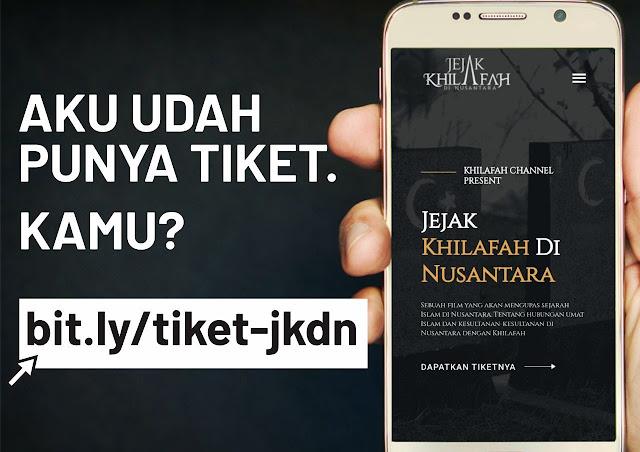 Film Jejak Khilafah di Nusantara Diblokir Pemerintah, Ketakutan?