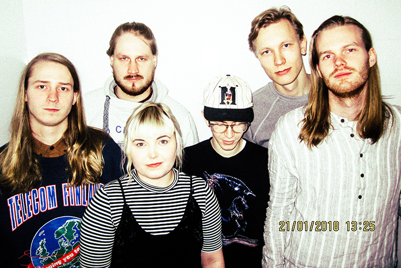 """Finnish Indie rockers Mantaray and the dreamy sad emotional dissonance of """"Outside Me"""""""