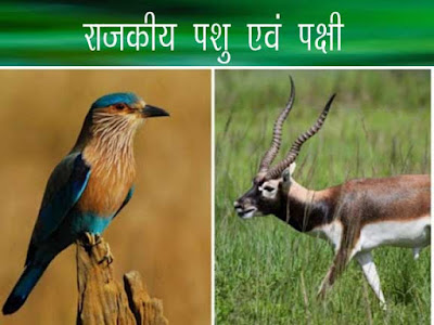 भारत के राज्यों के राजकीय पशु एवं पक्षी |