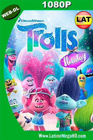 Trolls Holiday (2017) Latino HD WEBLD 1080P ()