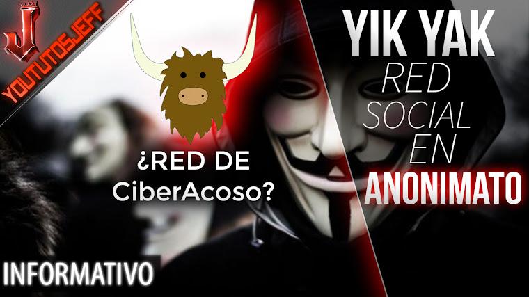 Yik Yak, la RED SOCIAL ANONIMA basada en la GEOLOCALIZACION ¿Red de CiberAcoso?
